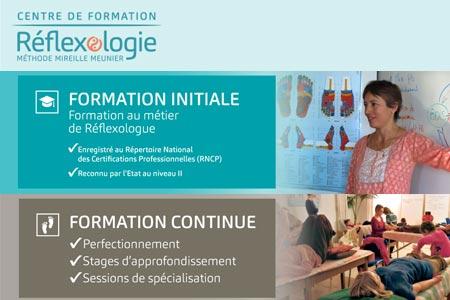 Centre de formation Réflexologie Mireille Meunier