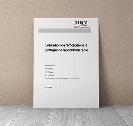 Evaluation Auriculothérapie Inserm - 2013