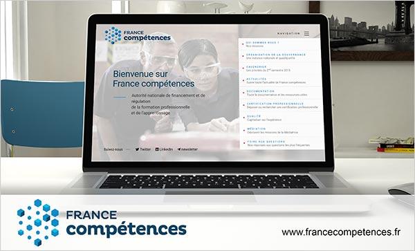 France compétences accueil
