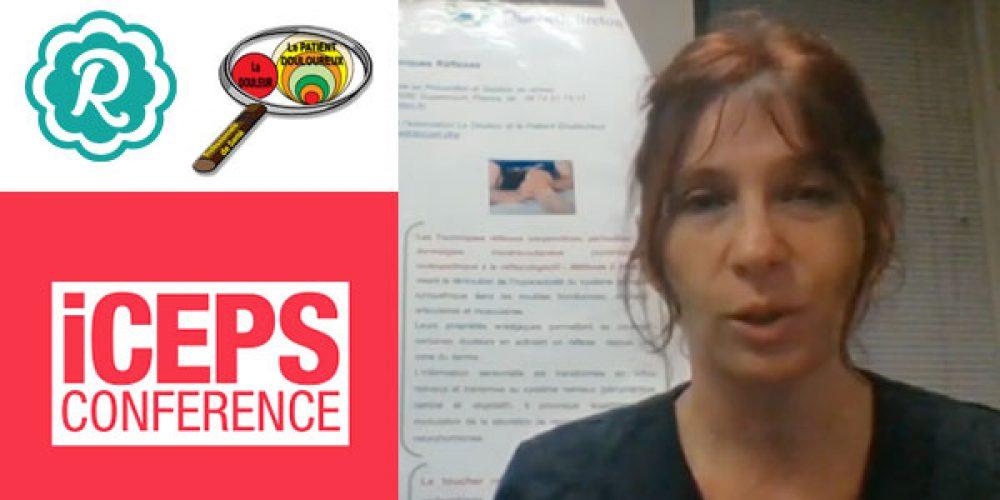 Congrès de l'iCEPS, courte présentation vidéo Douleur & techniques réflexes