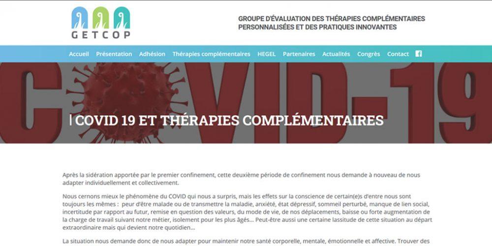 [GETCOP] Covid & Thérapies complémentaires