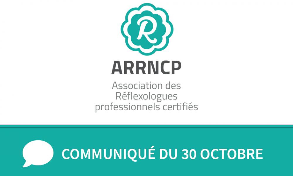 Communiqué ARRNCP