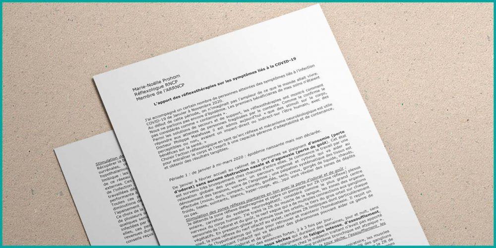 L'apport des réflexothérapies sur les symptômes liés à la COVID-19