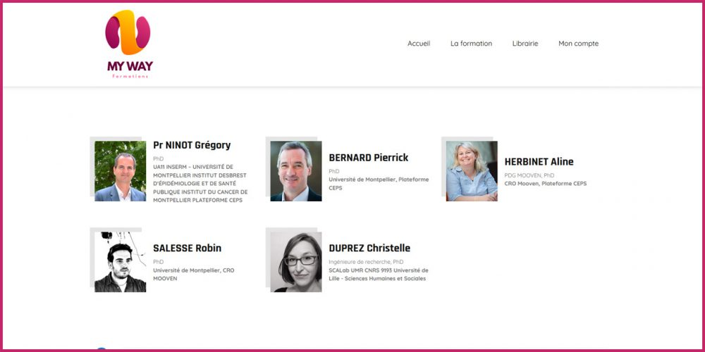[Formation] Initiation à la recherche clinique/interventionnelle non médicamenteuse
