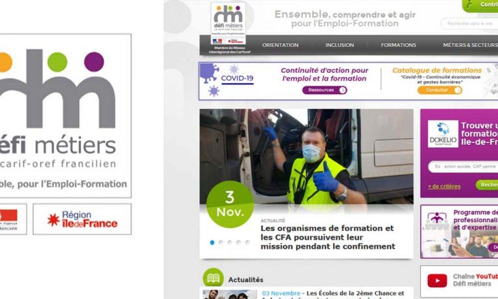screenshot Defi-metiers.fr